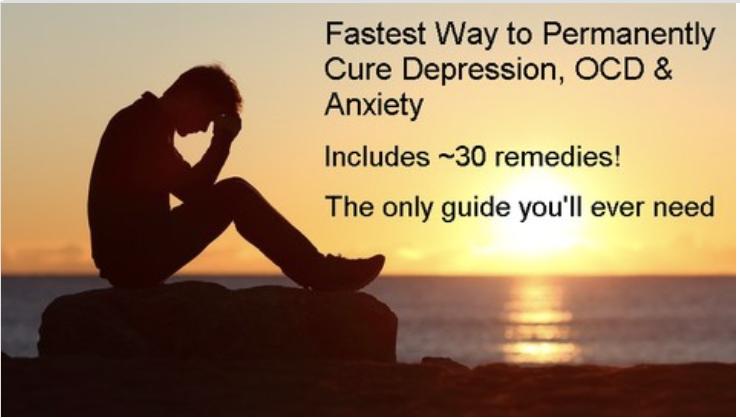 抑鬱,焦慮,強迫症和精神疾病最佳/安全治療